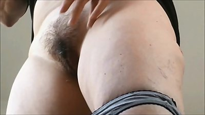 no panties hairy milf