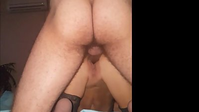 Squirting, gaping, farting milf cunt